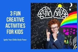 Fun creative activities for kids.