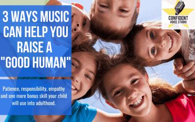 "3 Ways Music Can Help You Raise A ""Good Human"""