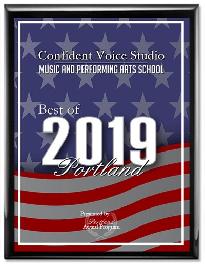 Confident Voice Studio Receives 2019 Best of Portland Award