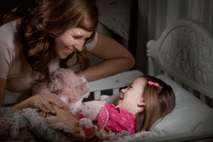 Singing lullabies and playing relaxing classical music can help your child sleep better.
