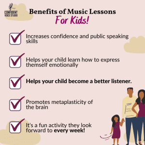 Amazing Benefits of Music Lessons for Kids