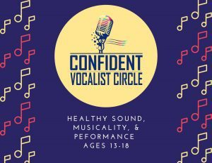 Confident Vocalist Circle Teen Summer prg