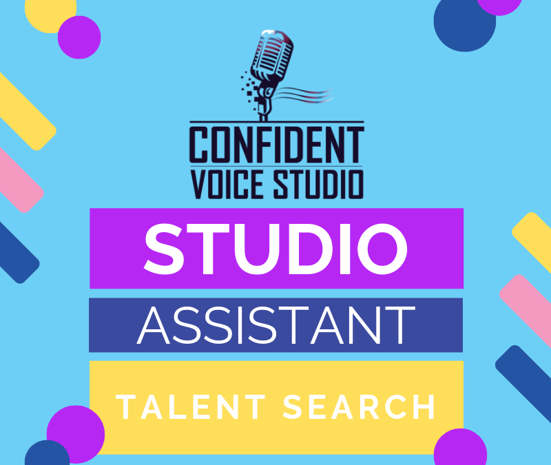 Music Studio Assistant Talent Search