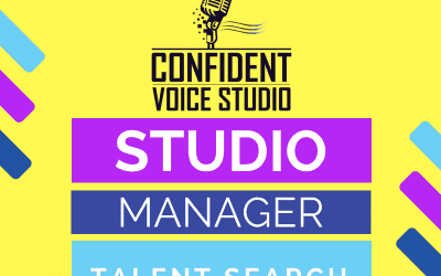 Music Studio Manager Talent Search