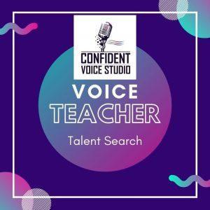 Voice Teacher Talent Search