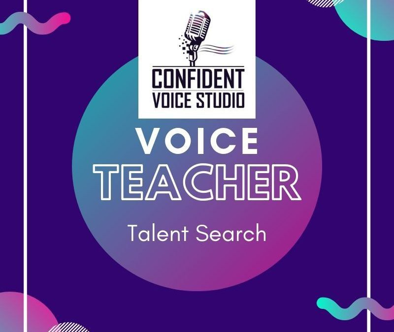 Voice Teacher Talent Search