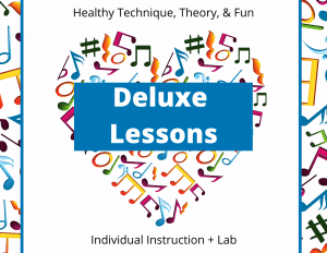 Deluxe Lessons at Confident Voice Studio.