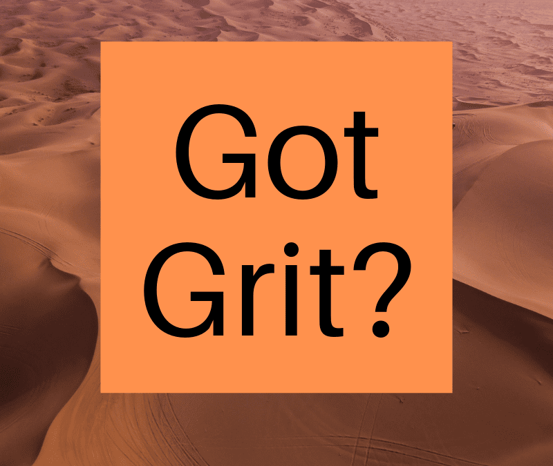 Grit Is the Strongest Predictor Of Future Success