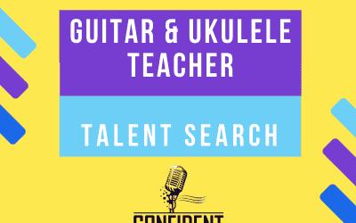 Guitar & Ukulele Teacher Talent Search