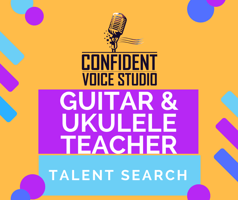Guitar & Ukulele Teacher Talent Search