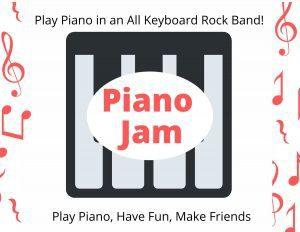 Piano Jam Piano Camp at Confident Voice Studio