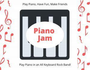 Piano Jam at Confident Voice Studio