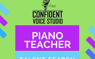 Piano Teacher Talent Search