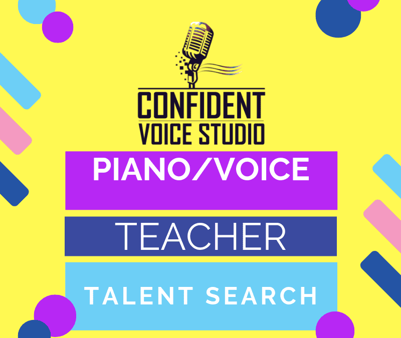 Voice and Piano Teacher wanted
