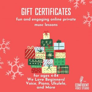 Gift Certificates for the Musicians You Love