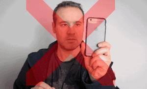Don't shoot in portrait mode