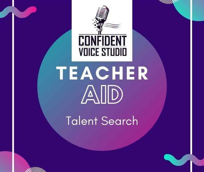 teacher aid talent search
