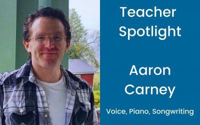 Teacher Profile: Aaron Carney