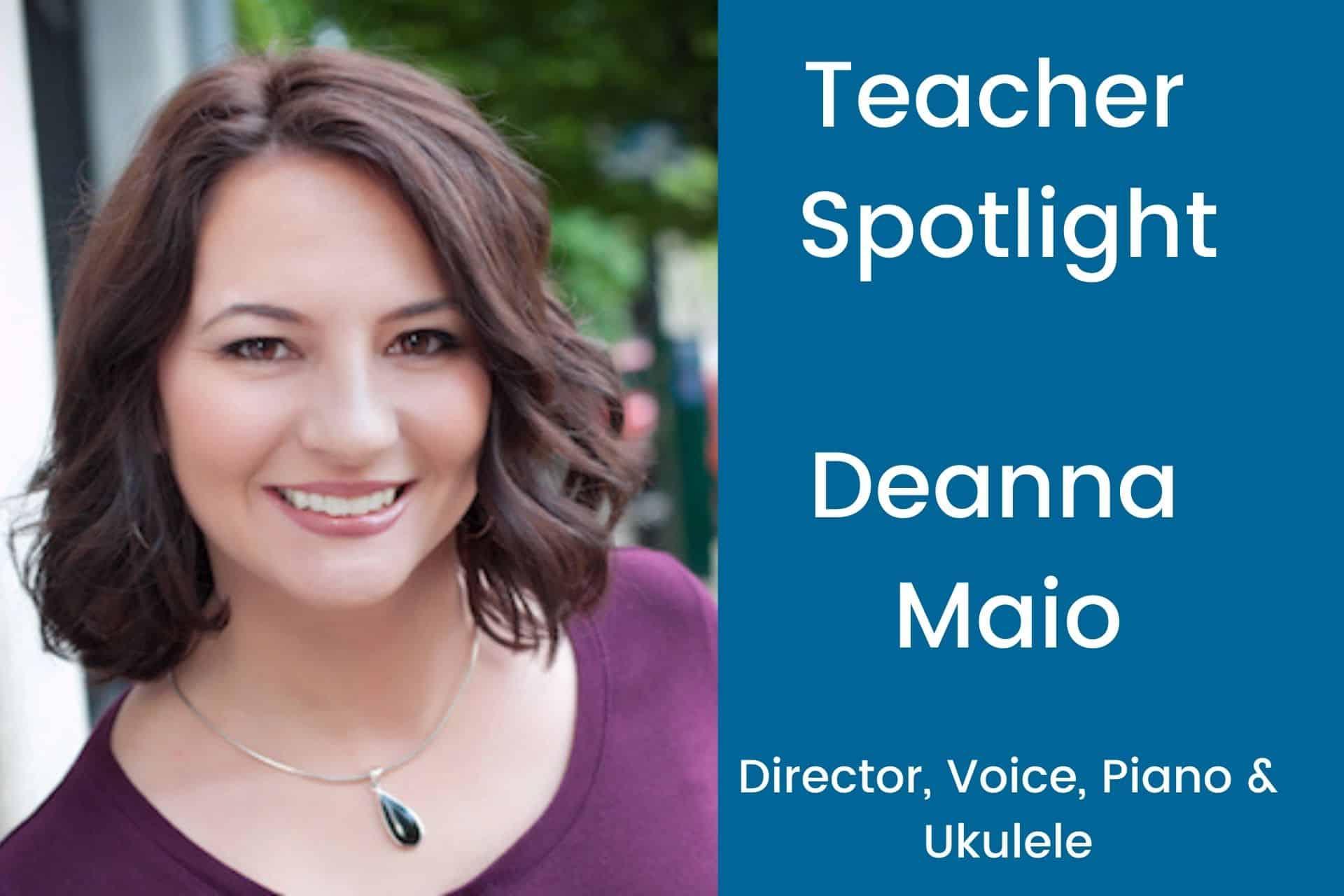 Teacher Spotlight Deanna
