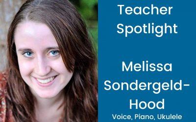 Teacher Profile: Melissa Sondergeld-Hood
