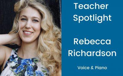 Teacher Profile: Rebecca Richardson