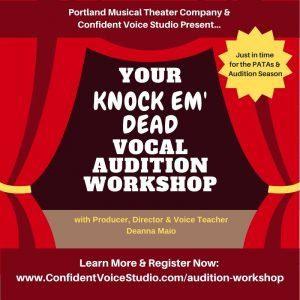 Vocal Audition Workshop Confident Voice Studio