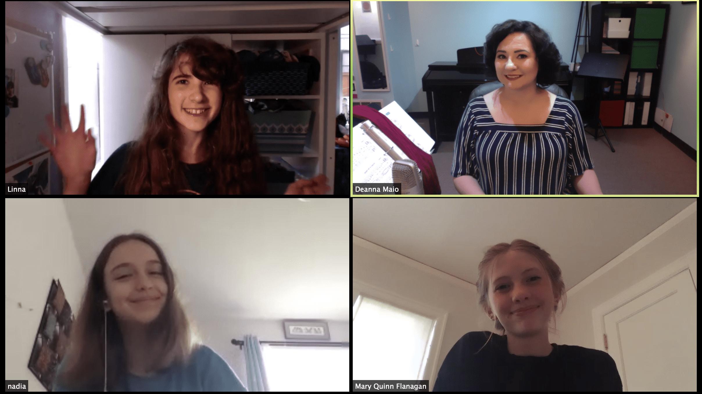 Confident Vocalist Circle Screenshot