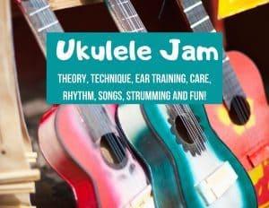 Ukulele Jam Summer Camp